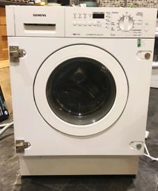 Integrated washing machine - Siemens WDI 1440