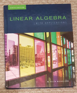 Linear Algebra with Applications: 6th Edition
