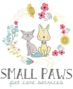 Small Paws West Island premium pet sitting dogs cats & critters