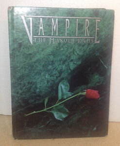 Vampire: The Masquerade by White Wolf (1998, Hardcover)