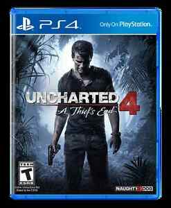 Uncharted 4: Thiefs End - Playstation 4 - 50$