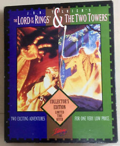 Lord of The Rings & The Two Towers RPG IBM/Tandy  Interplay
