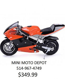 MINI MOTO DEPOT POCKET BIKE  2017 NOUVEAU 514-967-4749