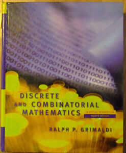 Discrete and Combinatorial Mathematics 4th edition Grimaldi
