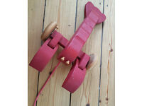 Larry the Lobster Vintage Pullalong Toy