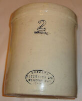 MEDALTA POTTERIES - 2 GALLON POT  -MINT  CONDITION