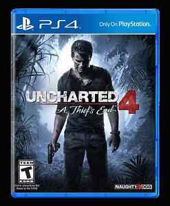 Playstation 4 ps4 bnib sealed uncharted 4.  45 firm