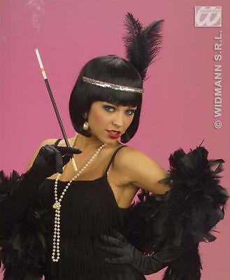 1920s Fancy Dress Costume Accessory Cheap Holder Gangster Cigarette Holder Black - Cheap Gangster Costume