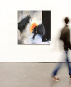 tableau abstrait, peinture acrylique sur toile,