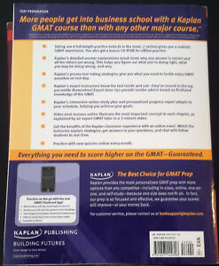 2 GMAT study books - $90+tax value Kitchener / Waterloo Kitchener Area image 3