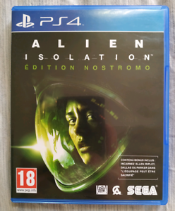 Alien Isolation PS4 as new