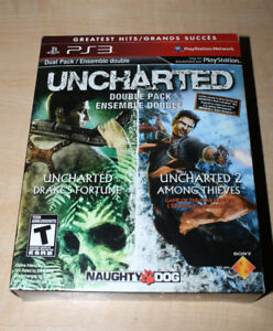 Uncharted Dual Pack PS3 (Drake's Fortune and Among Thieves)