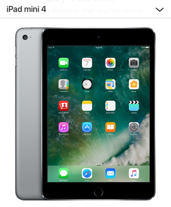 IPAD MINI 4 WIFI 128GB in space grey