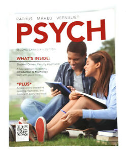 Psych - Second Canadian Edition Access Online               .01R