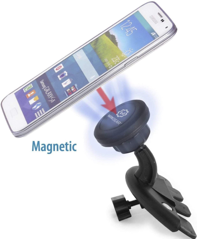 Cd Mount Universal Slot Magnetic Car Holder For Cell Phones And Mini Accessories 1