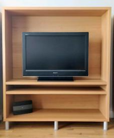 Sony Bravia TV 32in. + Ikea Enon Bench plus a Free Satellite Receiver