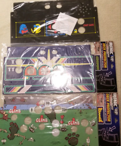 Arcade 1up Deck Protectors w/ Overlays - Brand New Sealed