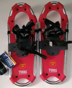 TUBBS YOUTH SNOWSHOES, GREAT SHAPE!