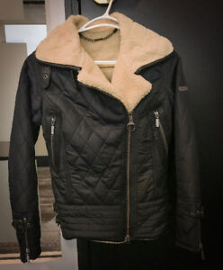 Barbour quilted motorcycle jacket (lined)