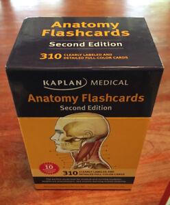 Kaplan Medical Anatomy Flashcards, 2nd edition