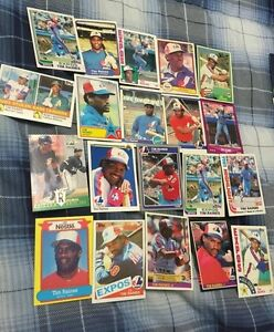 20 Different Tim Raines Baseball Cards-1 1981 Topps Rookie #816