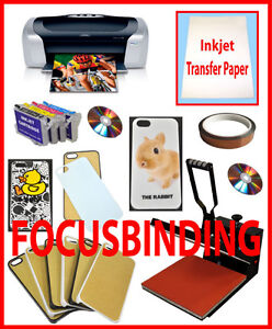15x15 Heat Press,Printer,Refill Cartridges,iPhone,Sumsung Cases