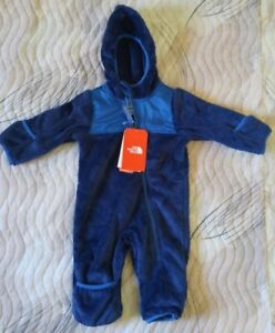 The North Face INFANT OSO ONE PIECE MIDLINE BLUE 6M
