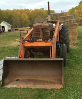 W6  Tractor with front end loader