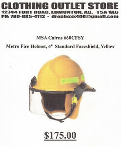 COVERALL QUALITY - FIREFIGHTER HELMETS WITH VISOR