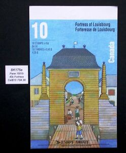 Stamps Canada 1995 Fortress of Louisbourg Booklet #BK175
