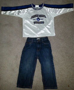 Toronto Maple Leafs jersey Official Licensed Merchandise+jeans