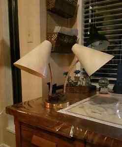 Vintage Double Gooseneck Desk Lamp