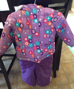 Carter's girl Snowsuit size 2T