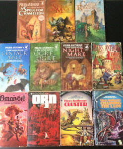 Piers Anthony Books for Sale