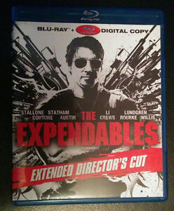 Expendables -Extended Director's Cut- Blu-ray $5 London Ontario image 1