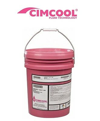 Cimcool Cimtech 310 Coolant 5 Gallon Clear Bio Stable Synthetic
