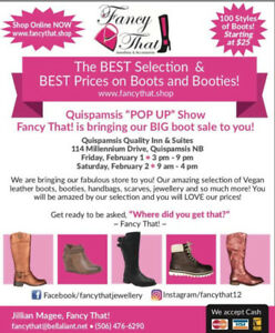 Fancy That! Pop Up-Fabulous Footwear and More