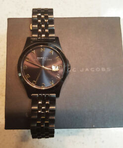 Marc By Marc Jacobs Unisex Watch - Black Gold $150