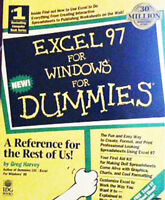 410 Page Paperback 'Excel 97 for Windows for Dummies'