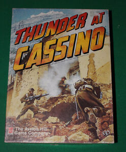 Thunder at Cassino Board Game by Avalon Hill 1987