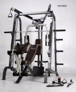 BNIB Ivanko Deluxe Smith Complete Training Cage/Workout Machine