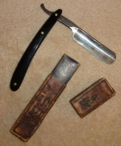 Antique straight razor