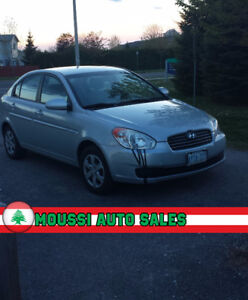 LOW KM| LOWEST PRICE | WINTER TIRE INC. | HYUNDAI ACCENT 2009