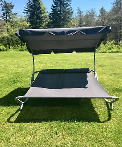 Double Sun Lounger/Hammock Bed