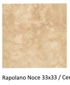33x33cm Rapalano noce ceramic floor tile £6m2