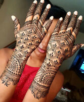 Professional henna artist 10+ years of experience