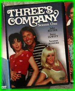 ( 4 ) DVDS -- THREE'S COMPANY ( Tv Show )