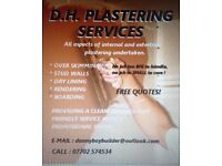DH PLASTERING SERVICES