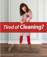 Hate cleaning? We love it!!