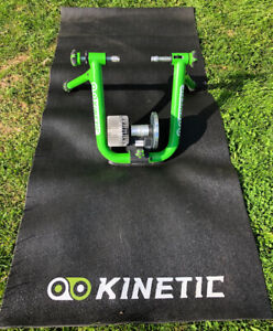 Kinetic Bluetooth Trainer and mat